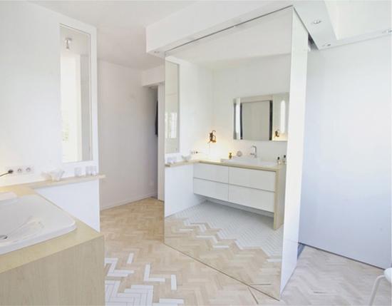Badkamer project van Kalb Lempereur