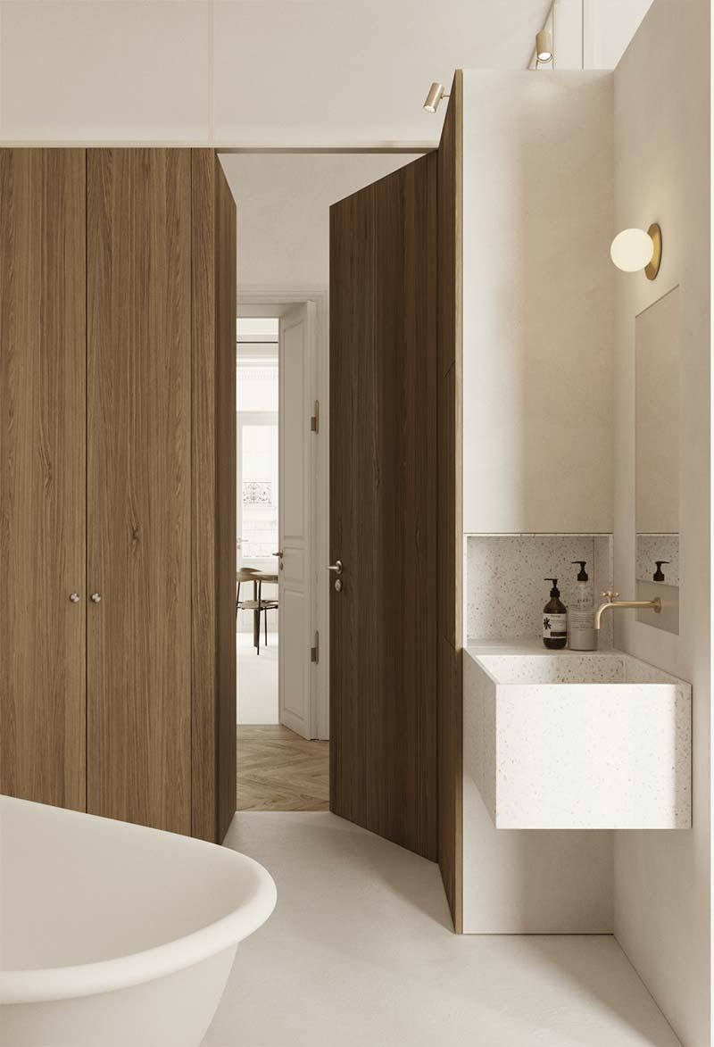 badkamertrends 2021 houten accenten