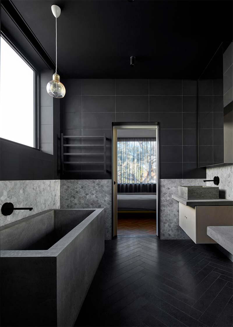 badkamertrends 2021 zwarte badkamer
