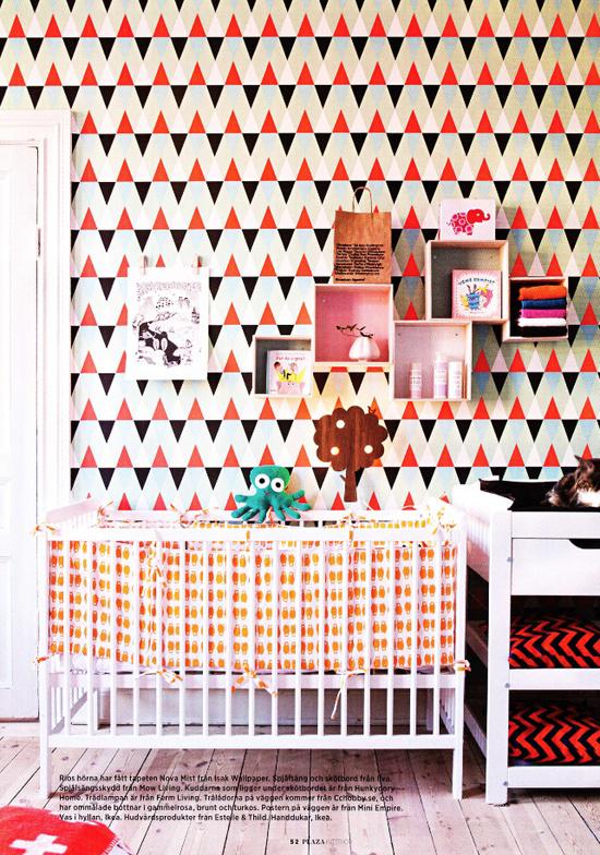 Behang voor in de kinderkamer  Wooninspiratie