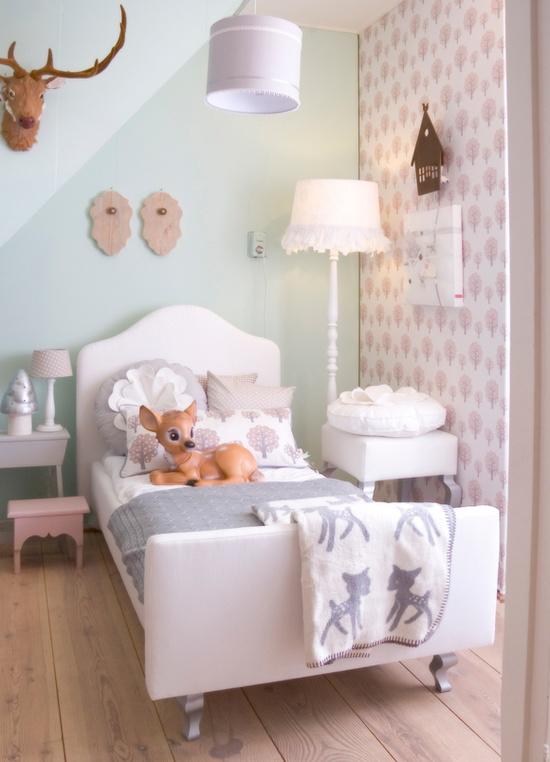 Behang voor in de kinderkamer wooninspiratie - Deco voor de kamer van de jongen ...