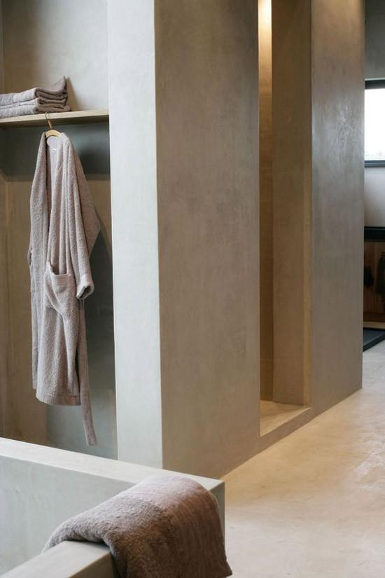 Badkamer tegels stucwerk wandtegels keuken groen natuursteen wandtegels keuken tegels - Grijze verf leisteen ...