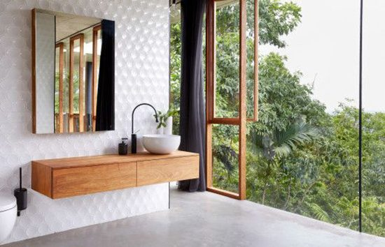 Bijzondere badkamer in Australië