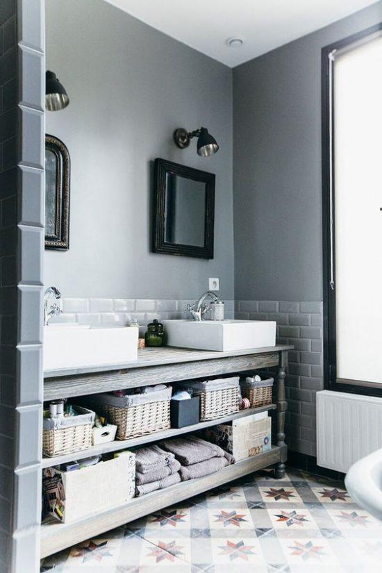 tegels badkamer fris blauw