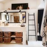 Mooie bohemian badkamer