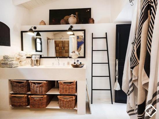 Mooie bohemian badkamer wooninspiratie - Een mooie badkamer ...