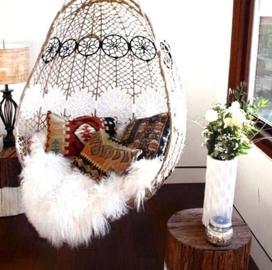 Bohemian hangstoel