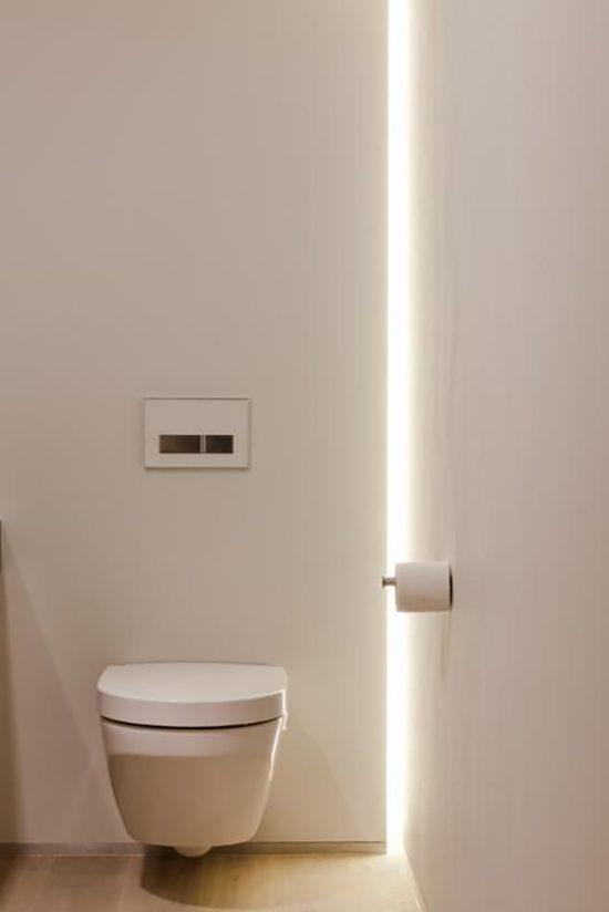 Breng wat licht in je leven met sfeervolle verlichting for Indirecte verlichting toilet