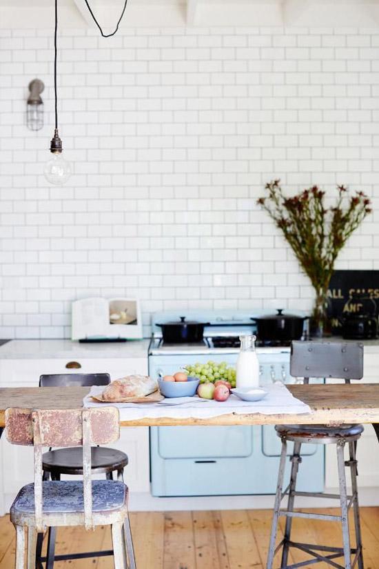 Vintage keuken wooninspiratie - Onderwerp deco design keuken ...