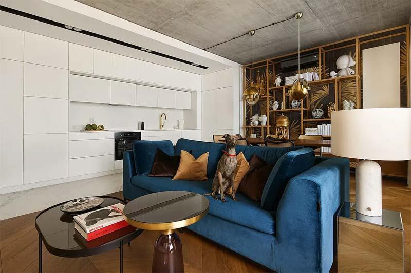 chic klassiek interieur witte open keuken