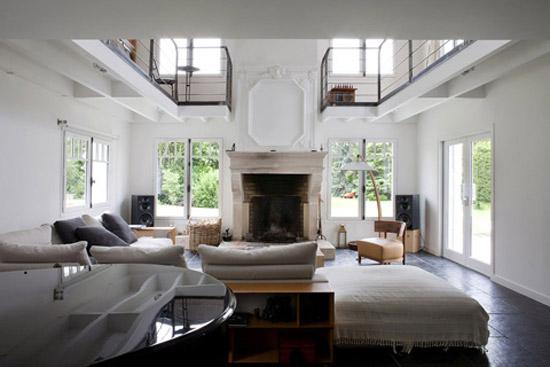 Prachtige huis aan de seine wooninspiratie for Maison architecte interieur