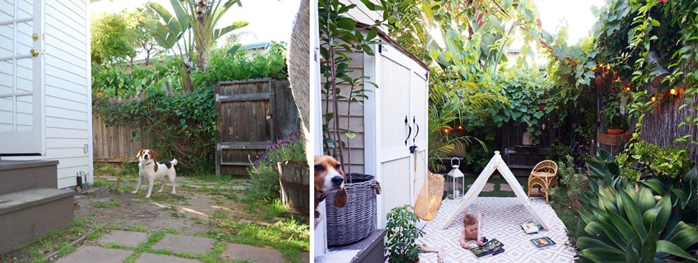 De fijne kleine tuin van Whitney & Adam