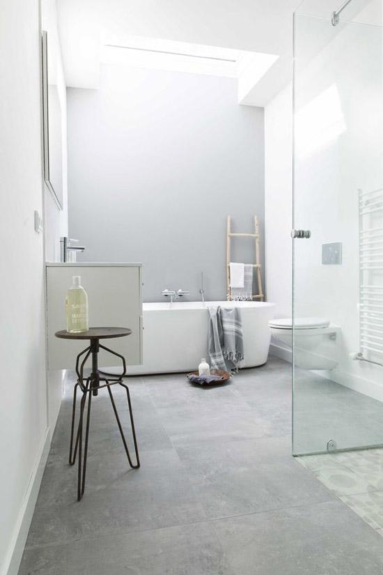 De simpele badkamer