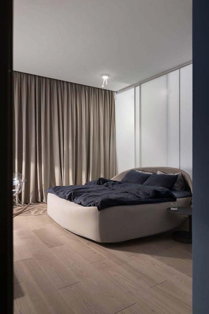 designbed warme slaapkamer