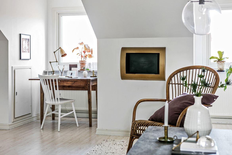 Deze zolder woonkamer is erg leuk en stijlvol ingericht!