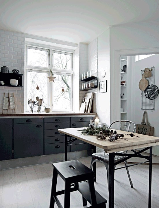 Dit Scandinavisch appartement is klaar voor de kerst
