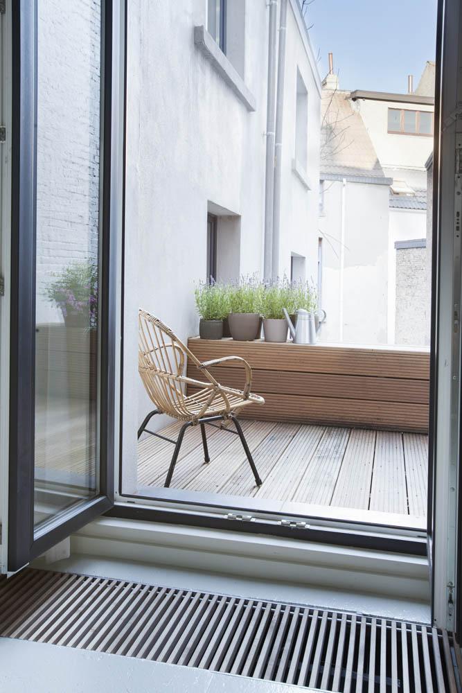 Dit mini loft appartement van 40m2 is super mooi geworden!
