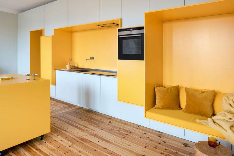 Dit Scandinavisch appartement is niet zo Scandinavisch ingericht
