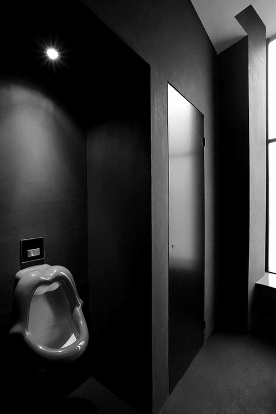 Donkere badkamer | Wooninspiratie