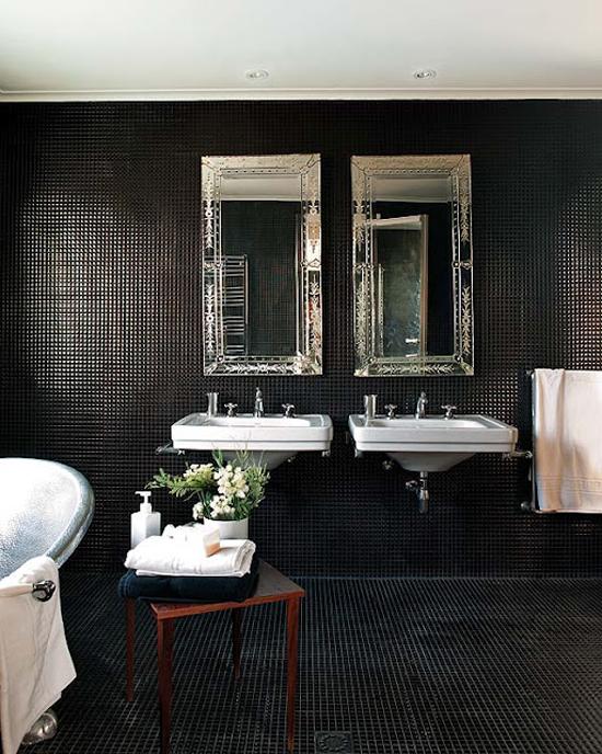 Welke Badkamer Ventilator ~   zeg volg je hart en geef je badkamer een donkere chique uitstraling