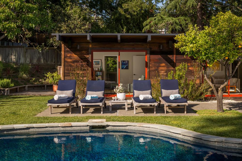 Droomtuin van een bungalow