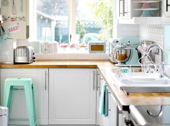 Een KitchenAid in de keuken