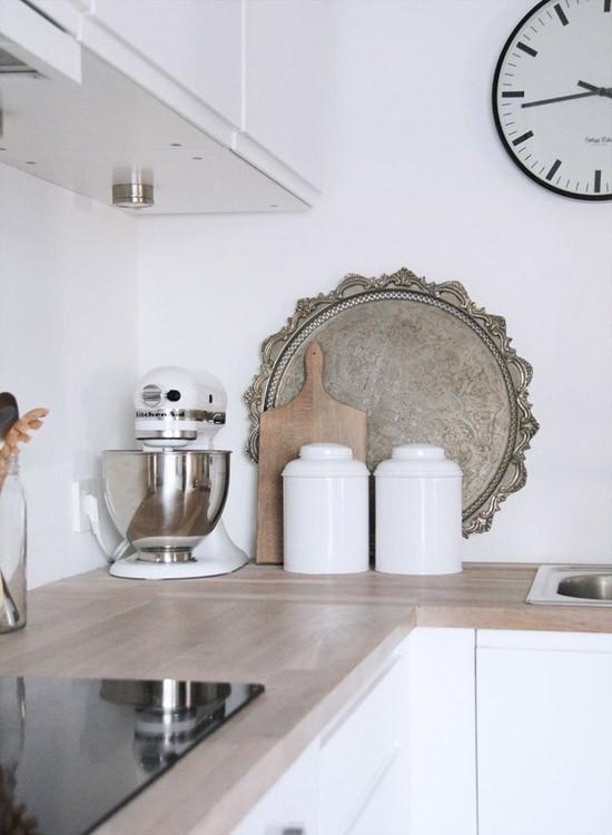 Een kitchenaid in de keuken wooninspiratie - Decoratie kleine keukens ...
