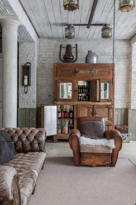 Een Chesterfield bank in je woonkamer