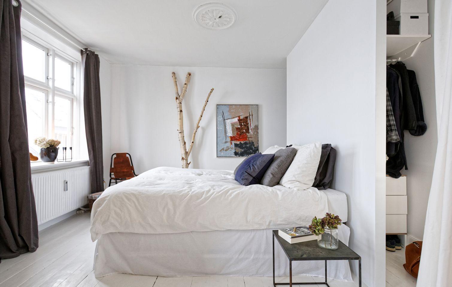 Een kijkje in de mooie slaapkamer van Josefine