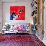 Een klein Zweeds appartement