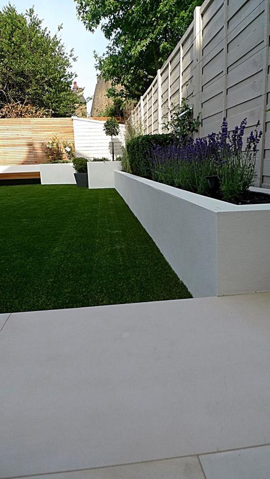 Een kleine tuin gezellig maken