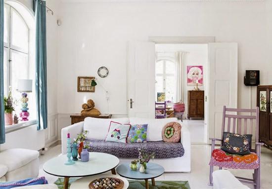 Kleurrijke Deense Villa : Een kleurrijk deens villa wooninspiratie