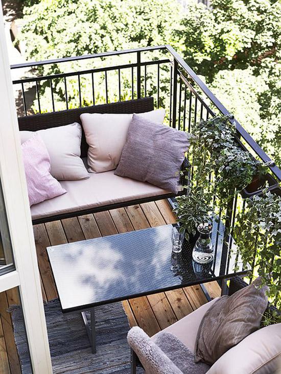 Mini Balkon een mini balkon wooninspiratie
