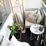 Een mini balkon