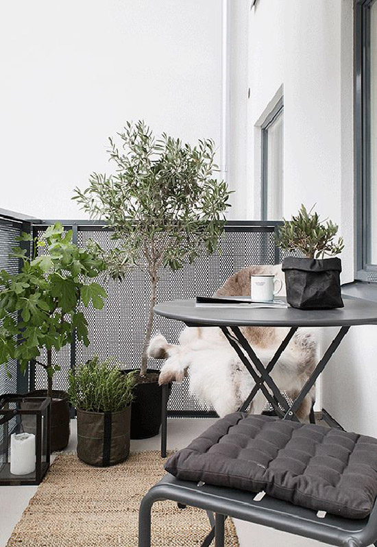 een mini balkon wooninspiratie. Black Bedroom Furniture Sets. Home Design Ideas