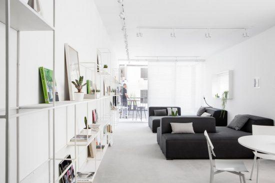 Een minimalistisch appartement wooninspiratie