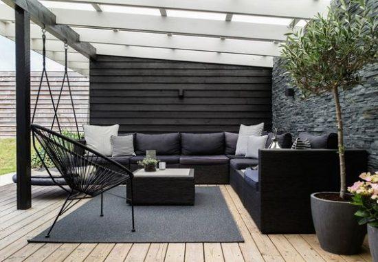 Een moderne tuin wooninspiratie for Moderne waterpartijen tuin