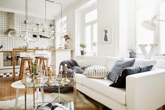 Een mooi scandinavisch appartement wooninspiratie - Mooi huis interieur design ...