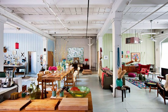 Een prachtige loft in new york wooninspiratie for Interieur loft new york