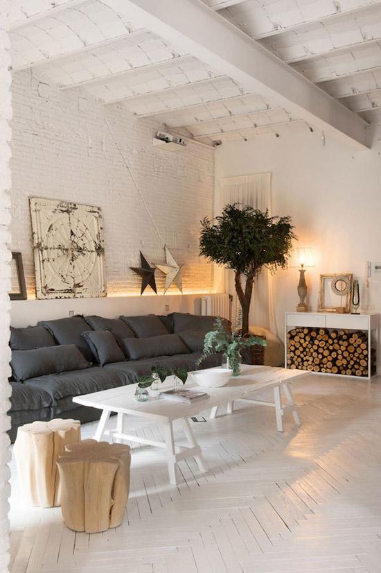Een prachtige loft in Barcelona