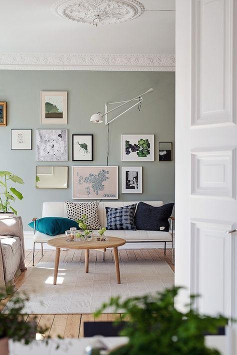 Een sfeervolle woonkamer wooninspiratie - Een rechthoekige woonkamer geven ...