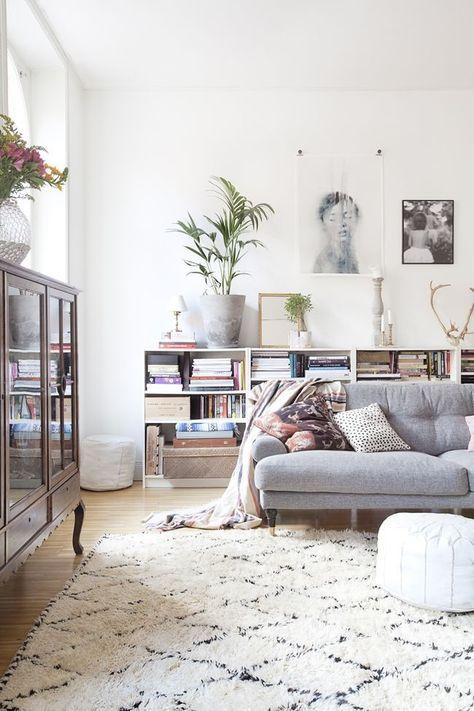 Een sfeervolle woonkamer