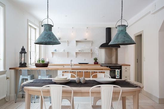 Een prachtige keukeninrichting wooninspiratie - Open keukeninrichting ...