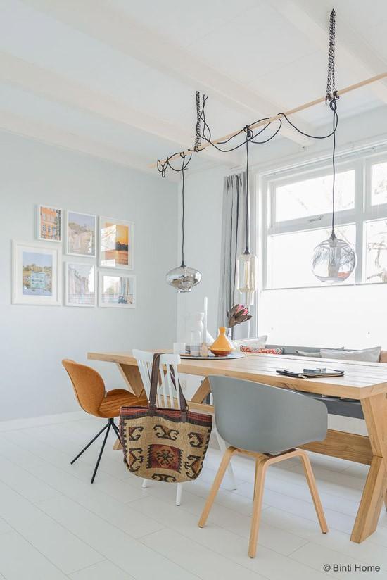 Eettafel stoelen inspiratie wooninspiratie for Verlichting eetkamertafel
