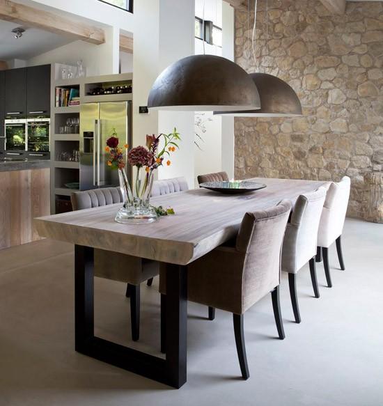 Eettafel stoelen wooninspiratie - Eettafel en houten eetkamer ...
