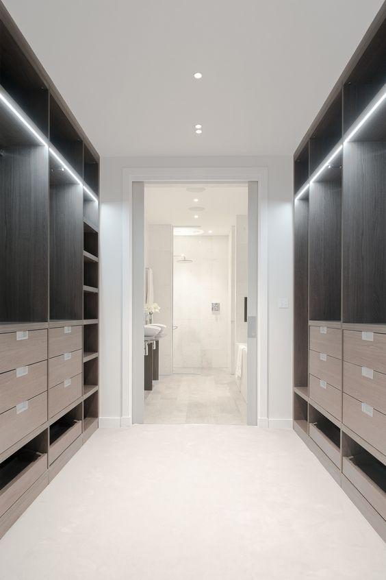 ensuite badkamer inloopkast