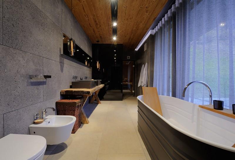 Luxe Chalet Badkamer : Chalet badkamer wooninspiratie