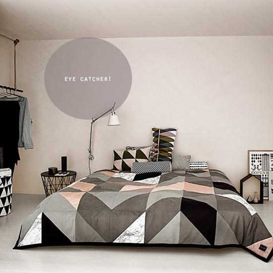 slaapkamer accessoires : pastelkleur interieur pastelkleur slaapkamer ...