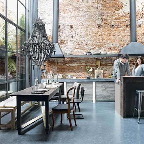 Oud fabriek in Amsterdam