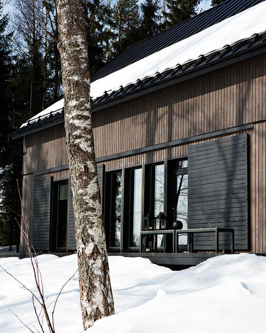 Finse huis van Ulla Koskinen en Sameli Rantanen